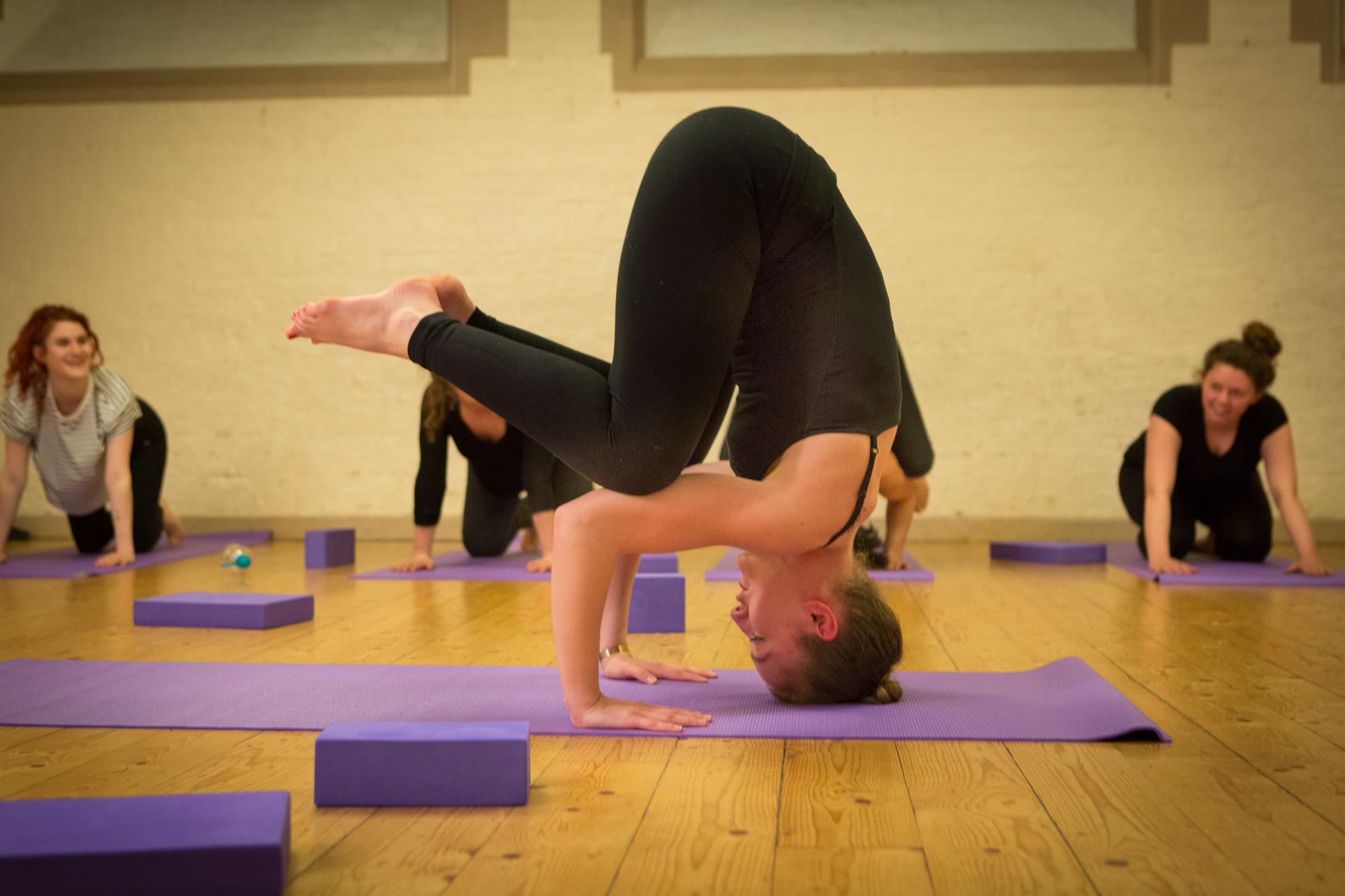 Arm Balance & Headstand Workshop