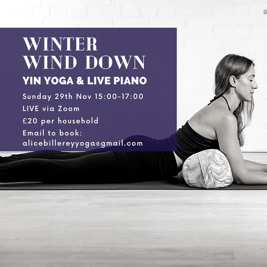 Workshop: Yin Yoga & Live Piano